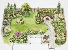 Landscape Design by Alpenfieber: backyard landscape design plans