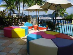 Beach Ball Furniture via Jellio on Facebook