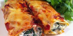 Cannelloni al Forno con Ricotta e Spinaci