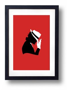 MIchael Jackson Victorian Silhouette Graphic by ThePowerCosmic, $15.00
