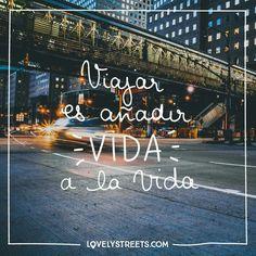La #lejanía, el #humo y el #polvo: #Viajar es añadir #VIDA a la Vida. #lejaníahumopolvo #frasedeviajes #sobreviajes #viaje