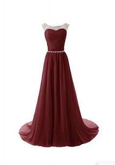 2016 Prom Dresses-Custom Made Gorgeous Beading Ruffles Chiffon Mermaid Prom Dresses Evening Party Dresses