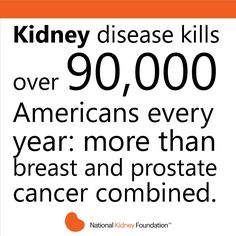 Facts on kidney disease