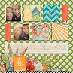 Layout using Be Awesome by Libby Pritchett