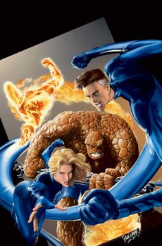 The Fantastic Four by Carlo Pagulayan