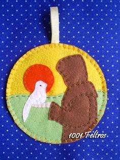 São Francisco de Assis = pintura de Luciana Teruz
