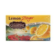 Lemon zinger tea ingredients