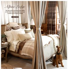 Bedding Collections, Bath & Home Furnishings from Ralph Lauren - if I had this I would hibernate for the winter