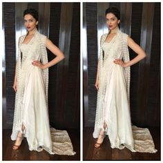 Oh my! Deepika wears her saree with a twist and we are dazzled   PINKVILLA