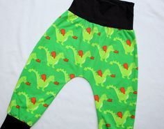 Baby Toddler Harem Pants Organic Euro Dragon 2T/3T by HiCheeky