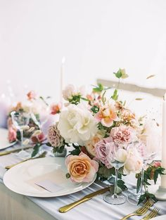 Lilac and Peach Summer Wedding Inspiration