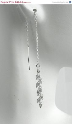 I really like these ones @laurahaired https://www.etsy.com/listing/155642432/on-sale-sterling-silver-ear-thread