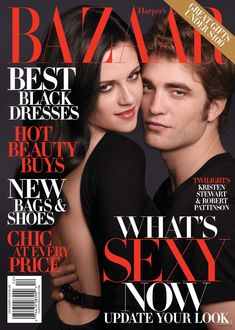 Kristen Stewart & Robert Pattinson - Harper's Bazaar Magazine [USA]  (December 2009)