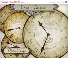 Hey, I found this really awesome Etsy listing at https://www.etsy.com/listing/175399107/on-sale-large-clocks-vintage-clock