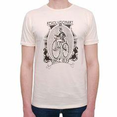 T-Shirt Vintage Bike White by R3lov