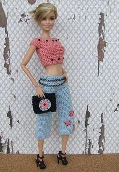 2354 Fantastiche Immagini Su Vestiti Barbie Uncinetto Nel 2019
