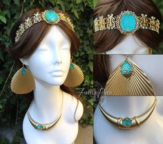 Custom order for a customer requesting an elegant version on Princess Jasmine's crown and accessories. Princess Jasmine Crown and Accessories Princess Jasmine Wedding, Princess Jasmine Cosplay, Aladdin Princess Jasmine, Jasmine Halloween Costume, Halloween Costumes, Deer Costume, Cowgirl Costume, Pirate Costumes, Princess Costumes
