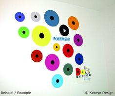 Dots Design, Wall Design, Design Products, Wall Sticker, Create Your Own, Stickers, Interior Design, Color, Home Decor