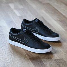 buy online 5d0a4 ee820 Nike SB Bruin Premium SE Black Black Metallic Pewter Zapatos Deportivos Nike,  Tennis Casuales,