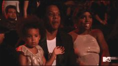 The breakout star of the 2014 VMAs? Miss Blue Ivy Carter. Watch Blue bust a ***flawless move and steal hearts everywhere.