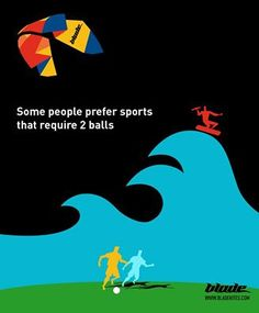 kitesurf vs football - haha