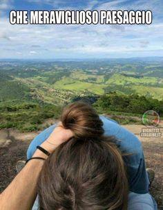 * I panorami mozzafiato (www.VignetteItaliane.it) #italianmemes