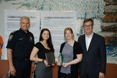On Monday, June 11, Algonquin College Victimology students Vanessa Gallant and Melissa Babisky received awards at the Coordinated Victims Assistance Network in Ottawa (CVAN Ottawa) launch. Read more on MyAlgonquin2!