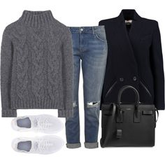 Untitled #4165 by ericacavaco12 on Polyvore featuring polyvore, fashion, style, Ganni, IRO, Topshop, NIKE, Yves Saint Laurent and clothing