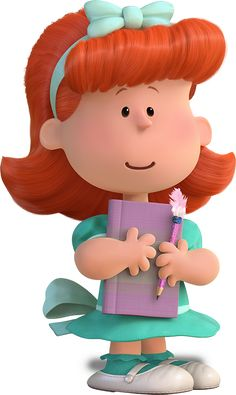 Thank you from your little red haired girl!!!❤️❤️❤️❤️The Peanuts Movie | November 6, 2015
