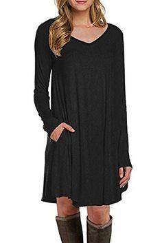 Cfanny Women's Long Sleeve Pocket Casual Loose T-Shirt Dr... https://www.amazon.com/dp/B01N99DNWF/ref=cm_sw_r_pi_dp_x_cyPpyb8JJDP5Q