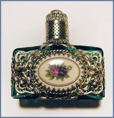 "Vintage Perfume Bottle Czech ""Grande Baroque""."