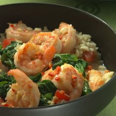 Vibrant Southeast Asian seasonings are a natural with shrimp. Freeze any leftover coconut milk or refrigerate it for several days; you can use it instead of broth or water to cook rice or enrich a curry.