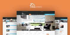 Real Homes is a handcrafted WordPress theme for real estate websites. Advance search, agent, business, corporate, flat, homes, houses, listing, offices, property, real estate, real estate agent, realtor, rent, sale