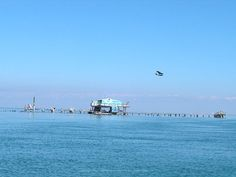Image detail for -Stiltsville home with plenty of dockage and a slide into Biscayne Bay