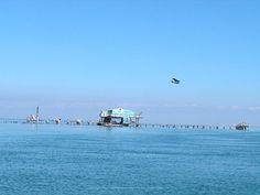 Image detail for -Stiltsville home with plenty of dockage and a slide into Biscayne Bay