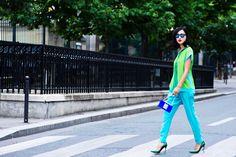 Париж, я люблю тебя: модная съемка с блогером Gary Pepper Girl Николь Уорн