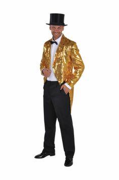 Sequinned Showman / Cabaret Tailcoat Jackets - GOLD | eBay