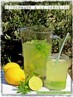 Citronade à la verveine Cocktail Party Food, Cocktail Drinks, Cocktail Recipes, Gout Remedies, Herbal Remedies, Healthy Alcoholic Drinks, Virgin Drinks, Soda Recipe, Kraut