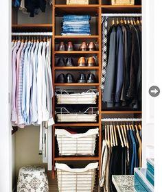 Designs For Small Closets | Cantinho Feliz... Muito Feliz!: Closets