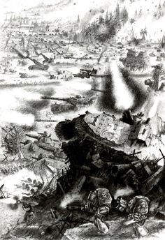 In the grim darkness of the far future. there is only war Military Art, Military History, Ice Warriors, 40k Imperial Guard, Far Future, Warhammer 40k Art, Game Workshop, The Grim, Space Marine