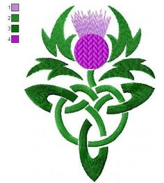 Celtic Thistle.jpg (434×487)
