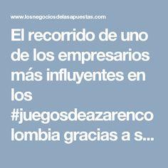 El recorrido de uno de los empresarios más influyentes en los #juegosdeazarencolombia gracias a su gestión #jaimeesparzarhenals #progreso