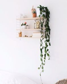 boho wall decor inspiration modern home design ideas String Pocket, Room Inspiration, Interior Inspiration, String Regal, String Shelf, Interior Styling, Interior Design, Boho Home, Piece A Vivre