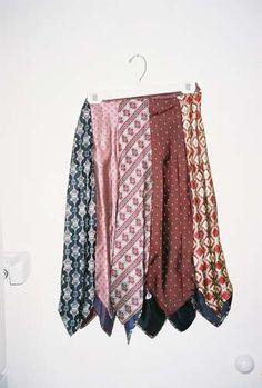 neck tie skirt!