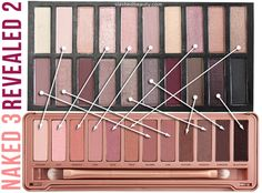 Revealed 2 Palette vs. Naked 3 Palette  - Love beauty? Go to bellashoot.com for beauty inspiration!