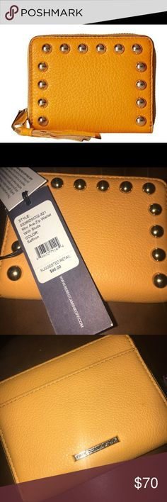 Rebecca Minkoff Mini Ava Zip Wallet Saffron Rebecca Minkoff Mini Ava Zip Wallet Saffron color, brand new with tags. Retail $95 Rebecca Minkoff Bags Wallets