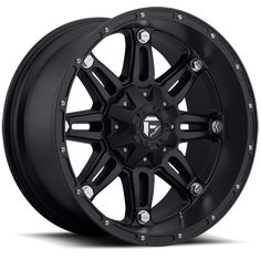 """Fuel Hostage Series Wheel - 18""""x9"""" - Bolt Pattern 5x4.5"""" and 5x5"""" - Backspacing 4.5"""" - Offset -12 - Matte Black For the Jeep!!!"""