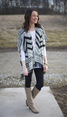 black and white kimono - www.lovelucygirl.com