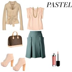"""Pastel"" by francy78 on Polyvore"