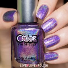 amazing holographic nail polish! LOVE!